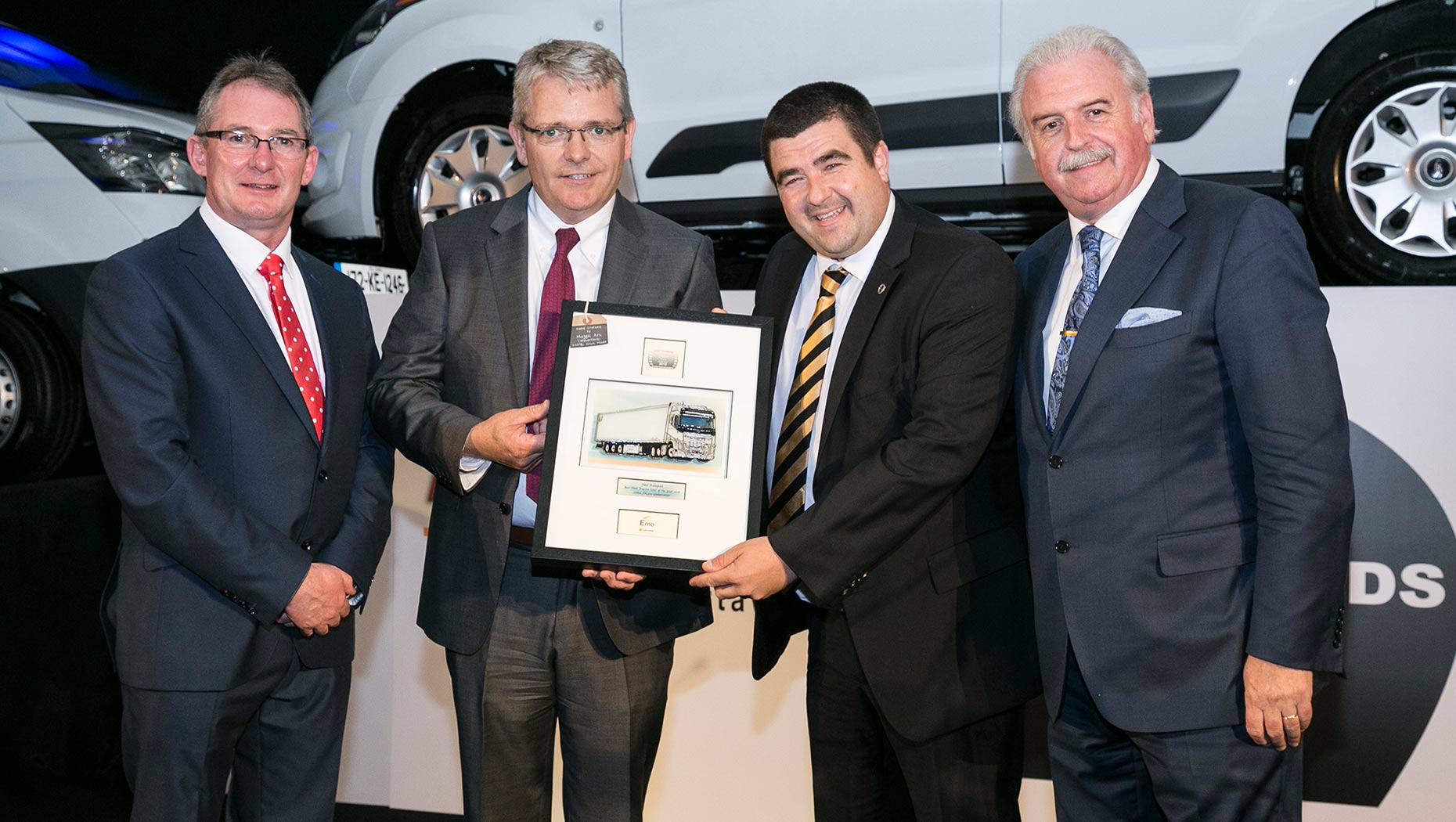 Volvo's FH series collects another top industry prize