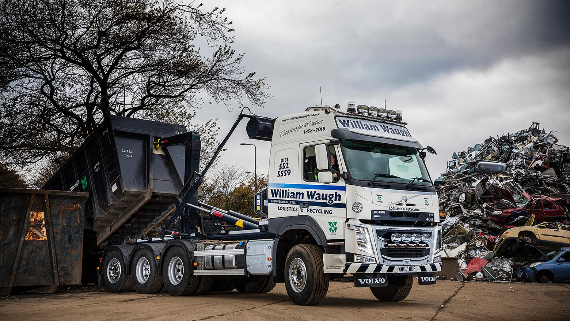 New Volvo FM Tridem rigid into operation.
