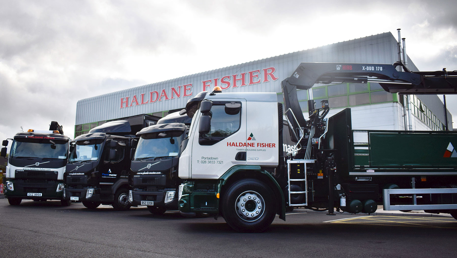 Haldane Fisher, has expanded its fleet with five new Volvo trucks from Dennison Commercials Ltd.
