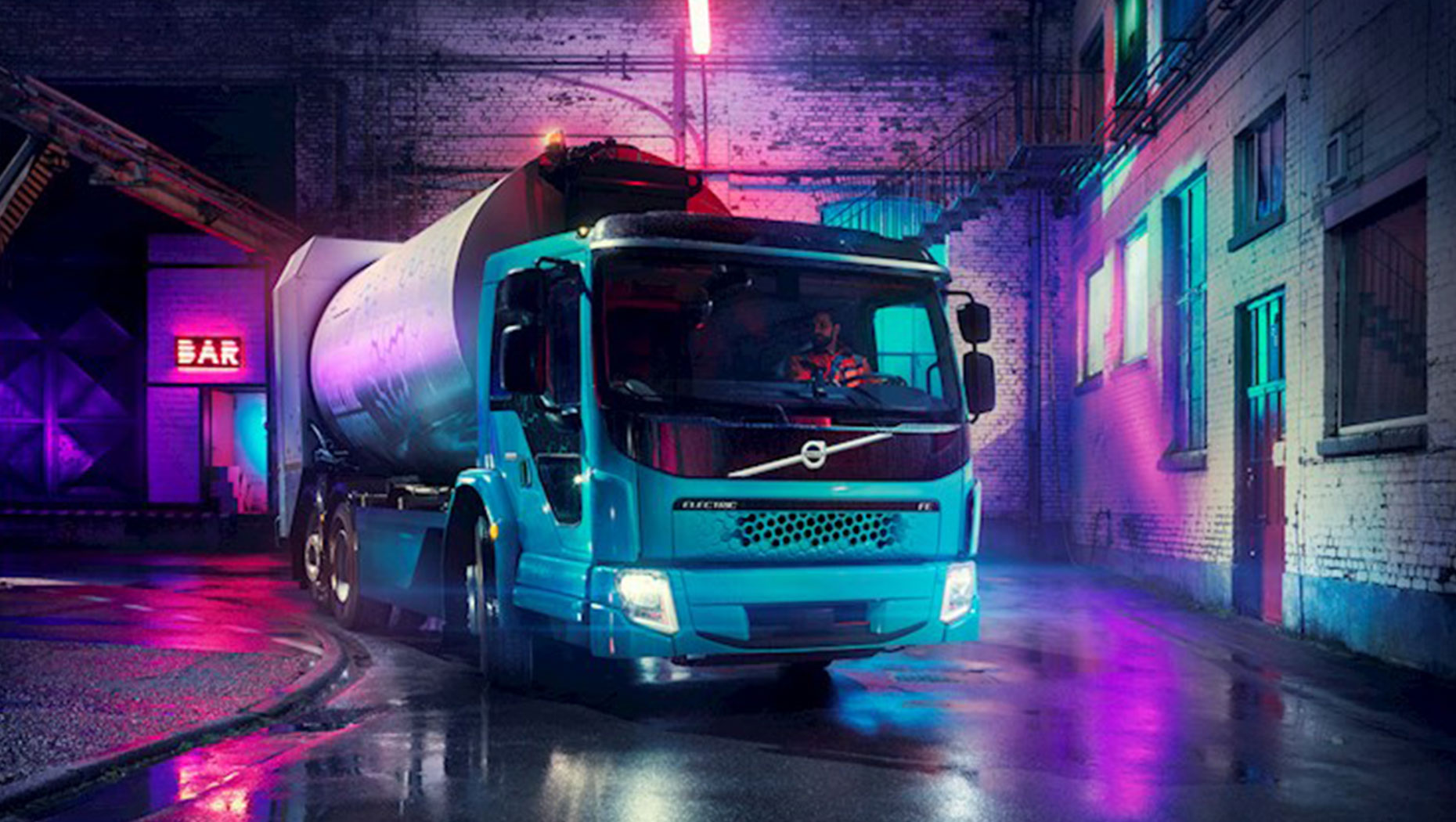 The Volvo FE Electric Truck