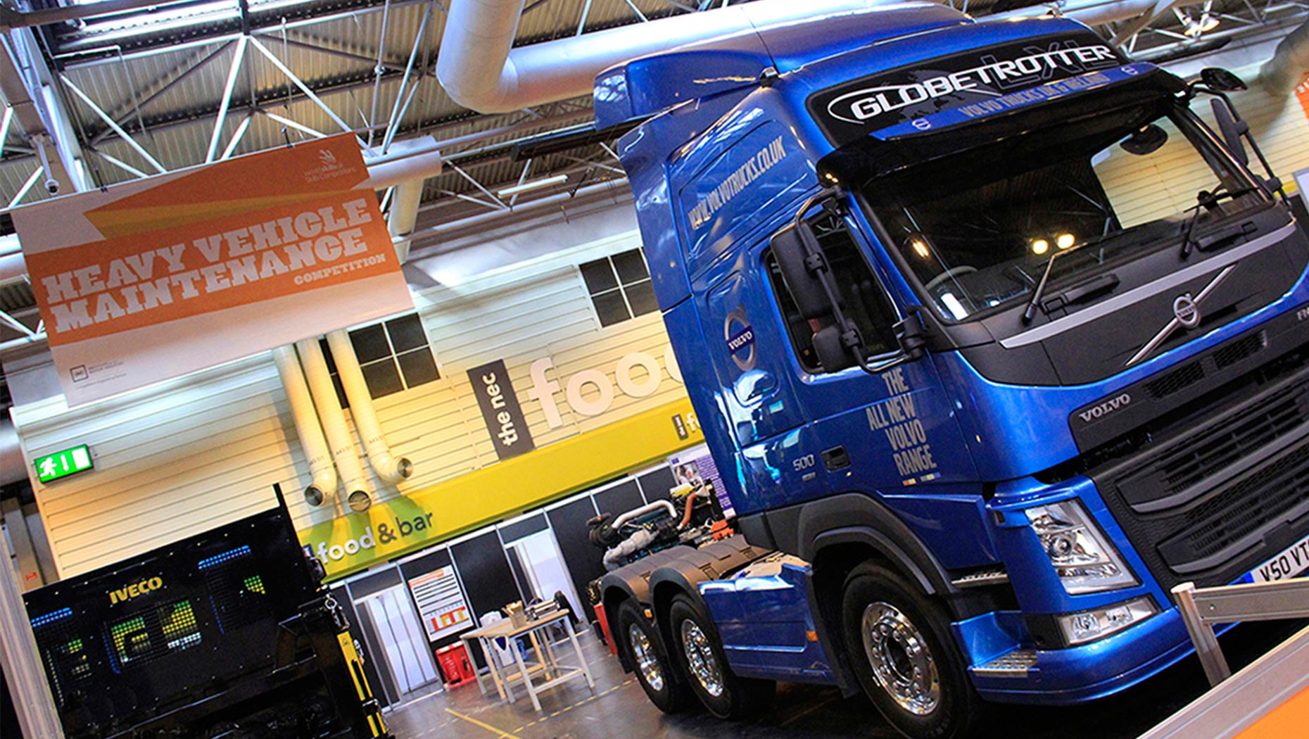 Volvo Trucks at WorldSkills UK Heavy Vehicle Technicians Competition