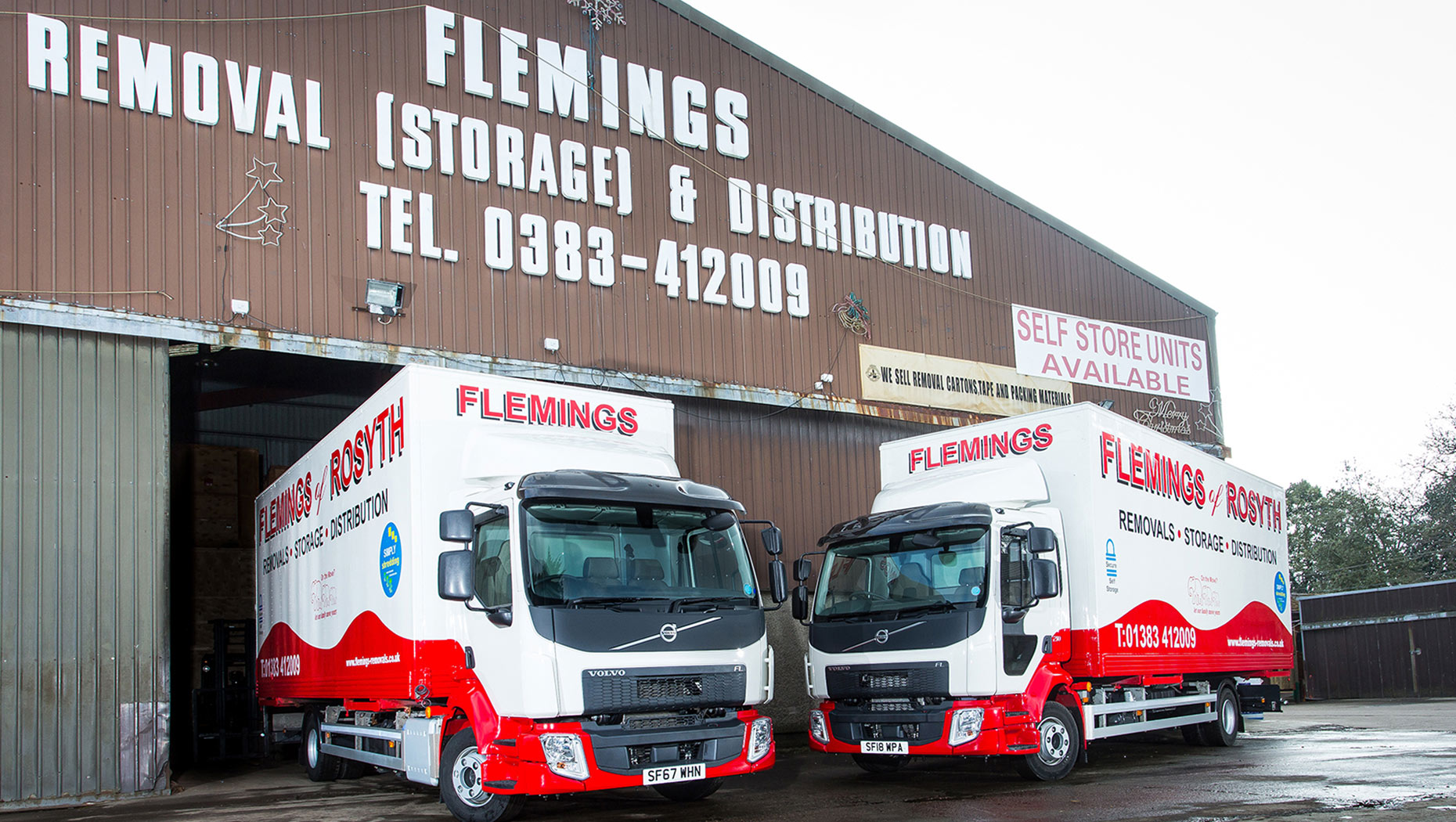 Volvo trucks' return to Flemings of Rosyth is a moving story