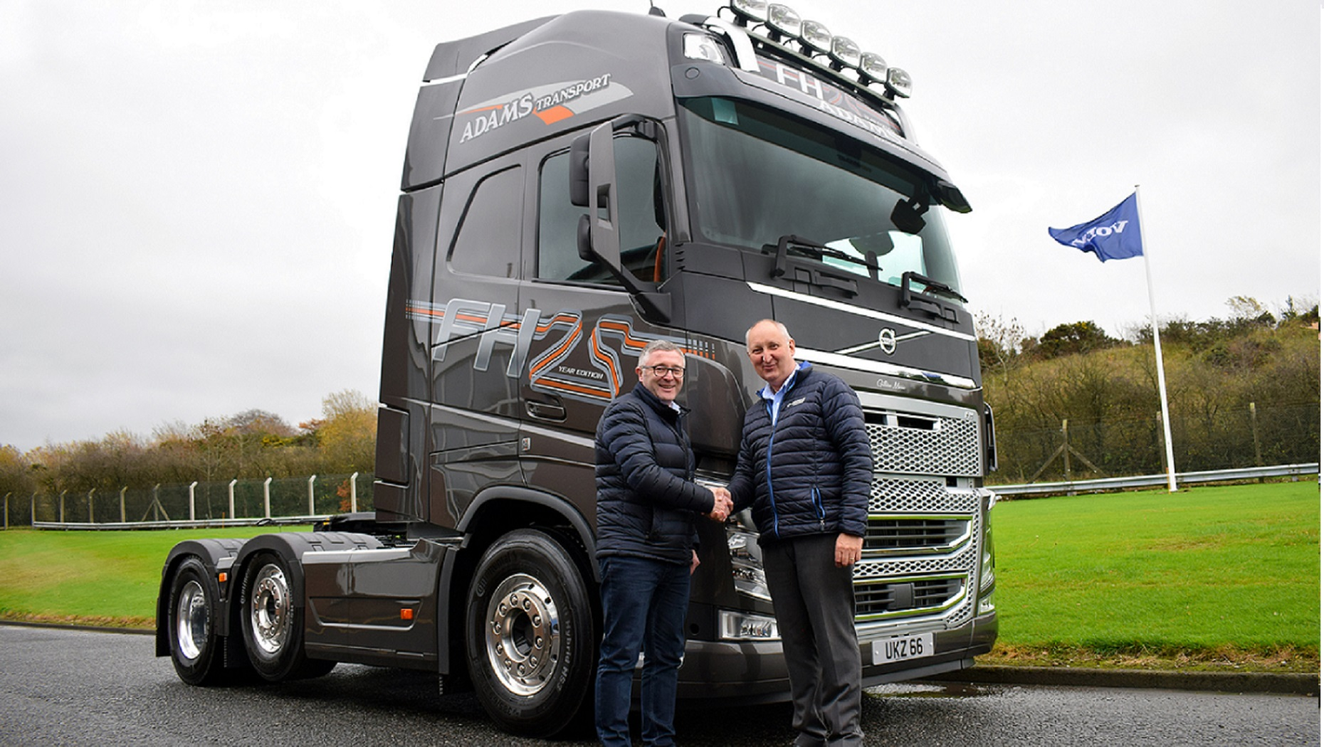 A Volvo FH 25-Year Special Edition Provides the Pefect Tribute for Adams Transport of Northern Ireland