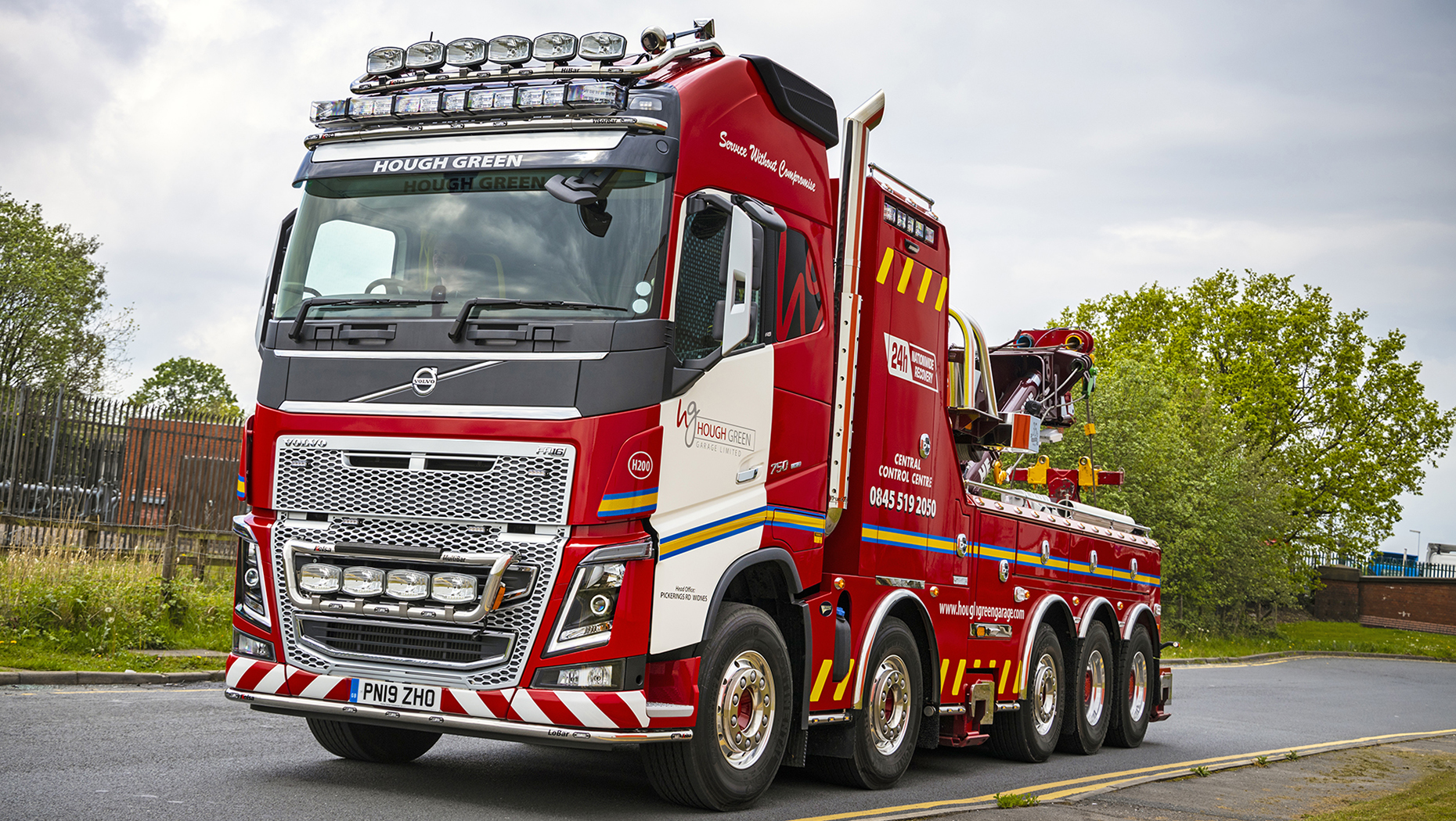 Hough Green Garage favours a five-axle Volvo FH16 750 for its new fleet flagship