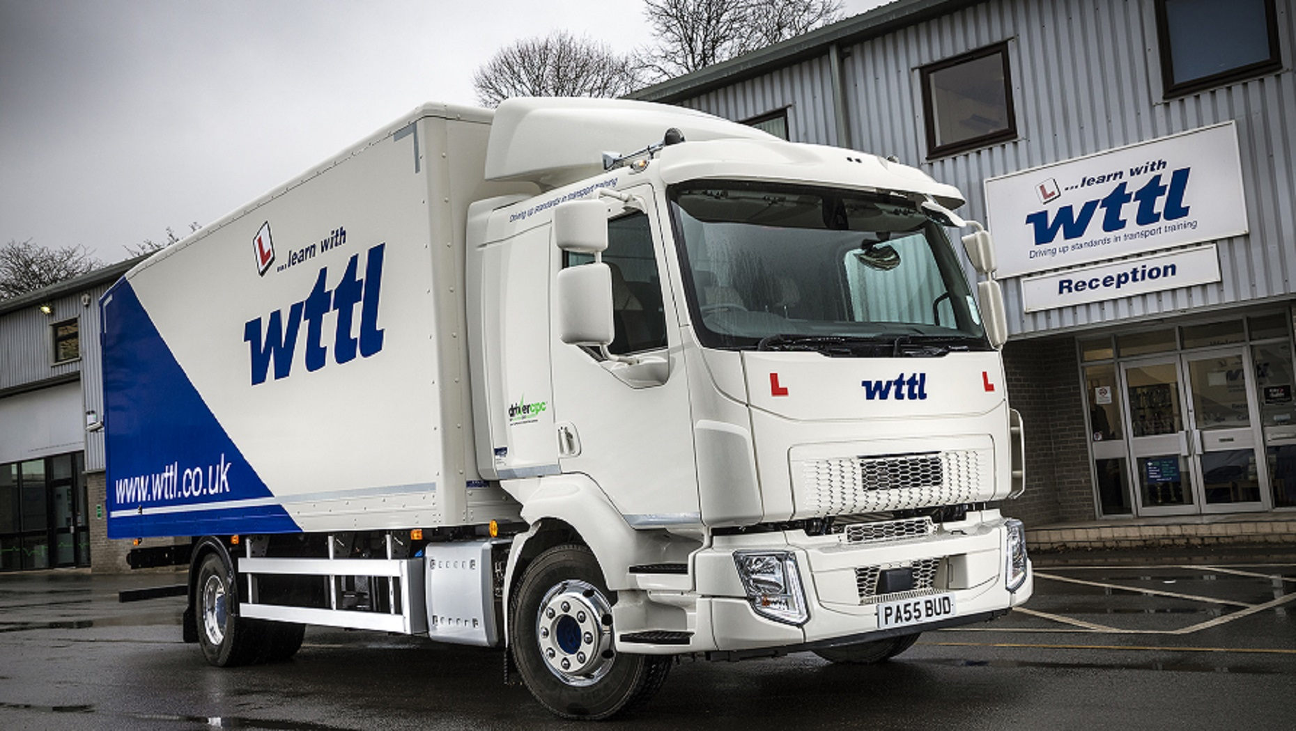 A New Volvo FL Rigid Passes the Test for Wiltshire Transport Training & Development Ltd.