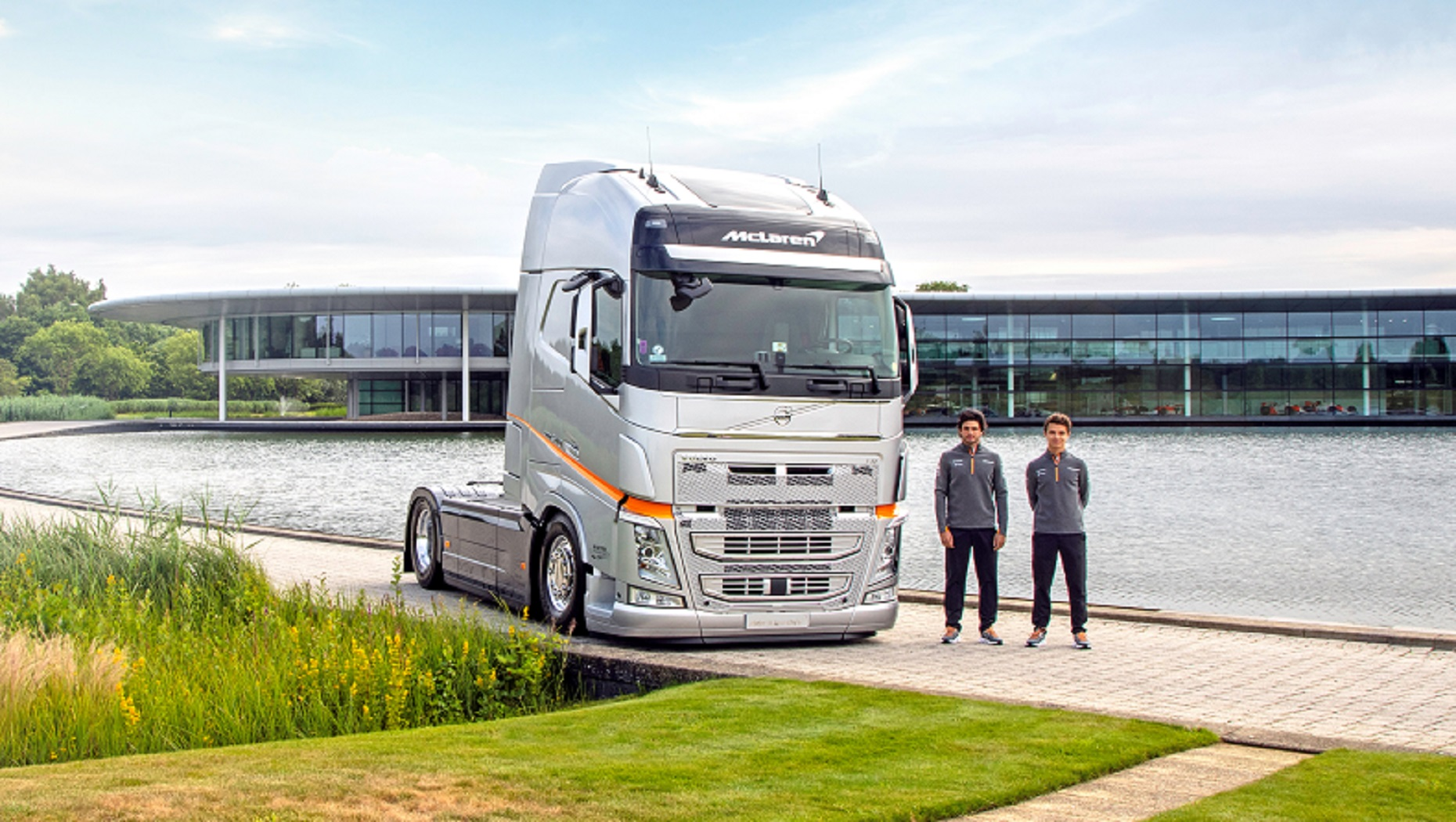 Volvo Trucks announce two-year extension to Formula 1 partnership with McLaren Racing