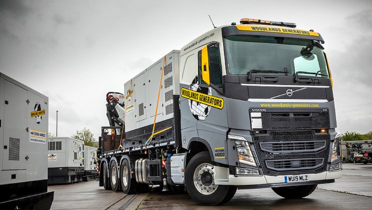 Volvo Of The Woodlands >> A New Volvo Fh Tridem Rigid Powers Progress At Woodlands
