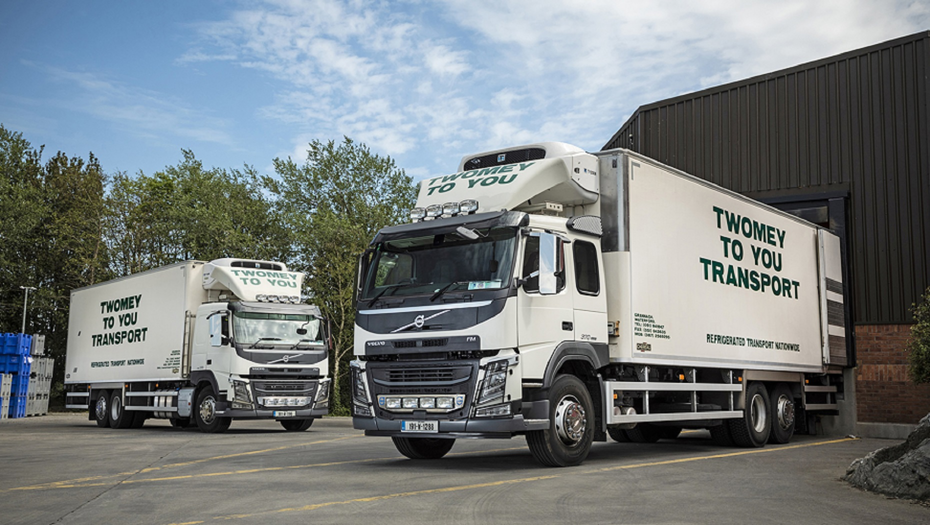 Volvo's FM rigid chassis 'meats' the high standards required at Twomey To You Transport