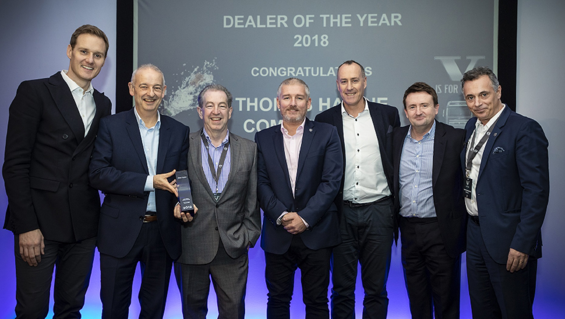 Thomas Hardie Commercials Win Dealer of the Year Award