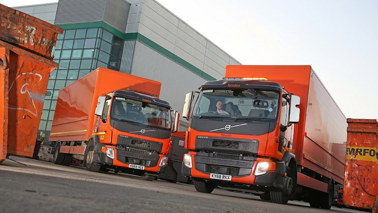 Big Bywaters Order Sees 30 New Trucks Head to East London