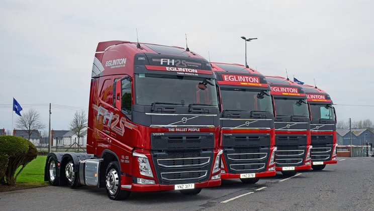 Special Volvo Delivery for Eglinton (Timber Products)