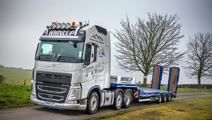 A High Specification Volvo FH 25-Year Special Edition Proves Perfect for Whincup & Sons' 30th Anniversary