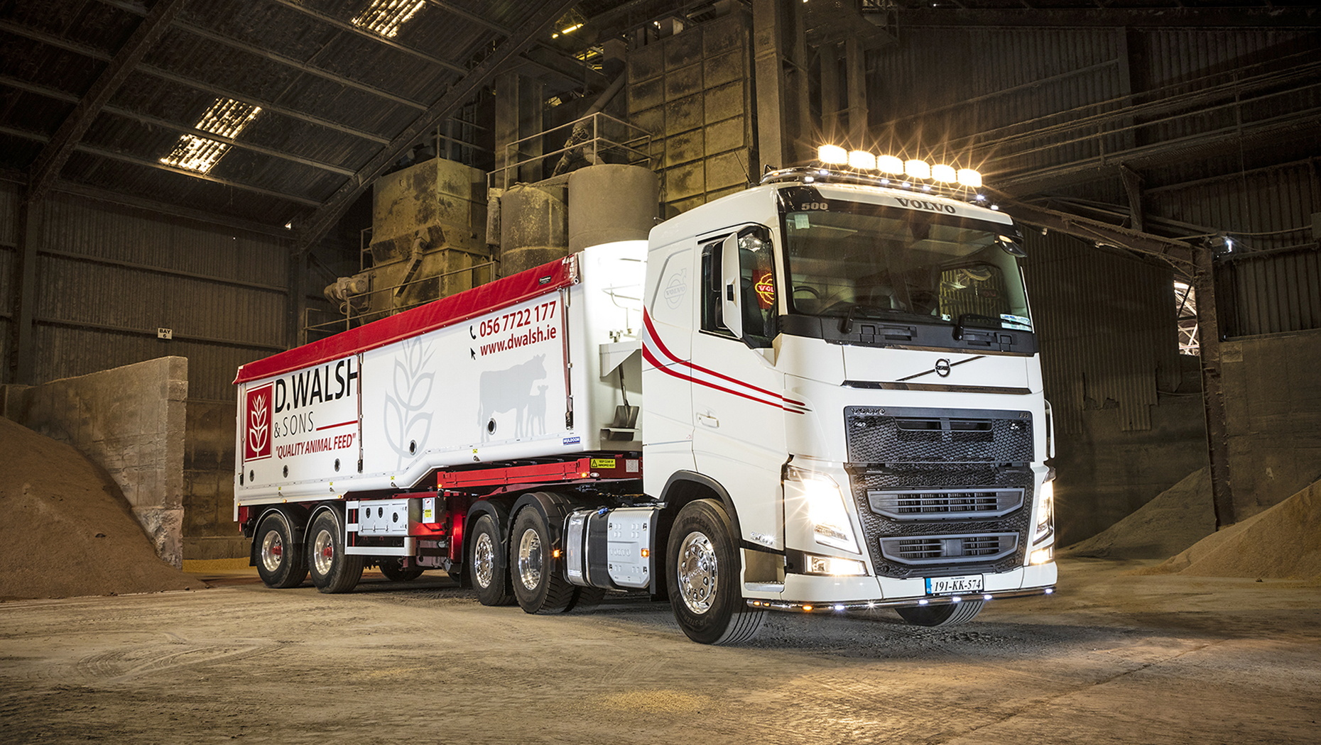 D Walsh & Sons access all areas with its latest Volvo FH tag axle tractor unit