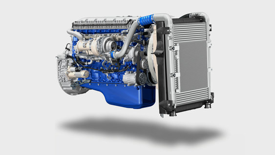 New fuel-efficient Volvo FE engines