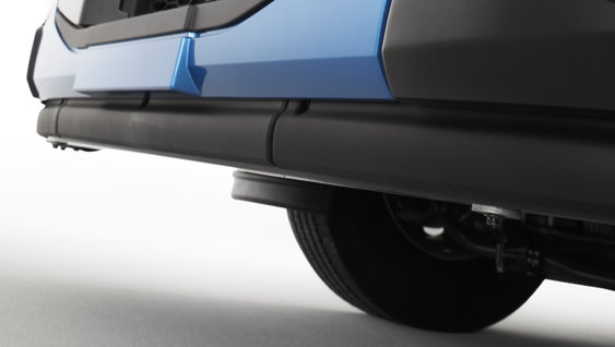 The Rear Underrun Protection systems on Volvo FE