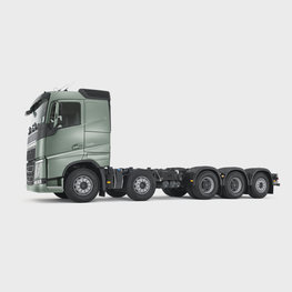 Five-axle 10x4 configuration suits heavy loads