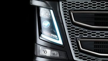 Volvo FH16 exterior lighting