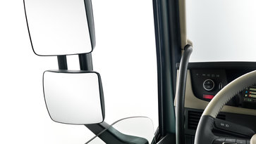 Volvo FH16 mirrors and windows