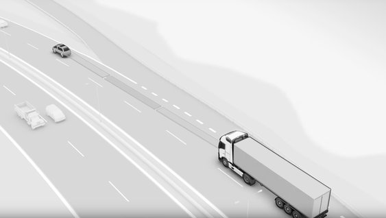 Video explaining the benefits of Adaptive Cruise Control and Collision Warning with Emergency Brake