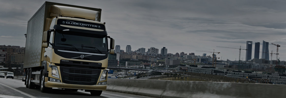 The fuel-efficient Volvo FM