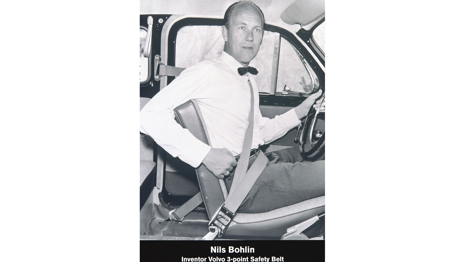 The Seat Belt Volvo's leading Safety invention
