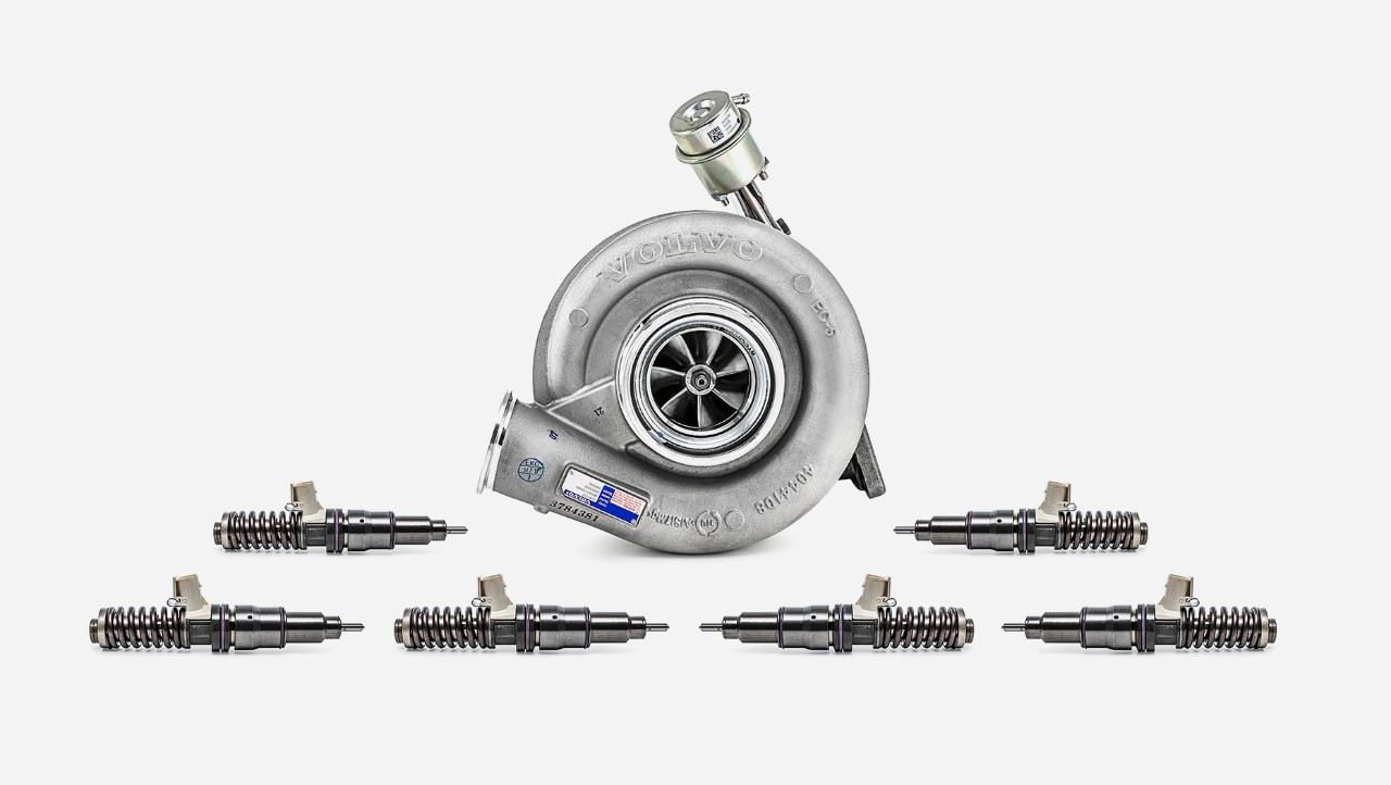 Volvo trucks engine overhaul overview kit extra