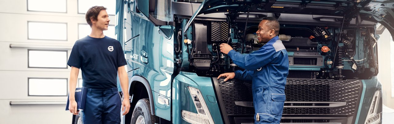 Volvo trucks engine overhaul offer